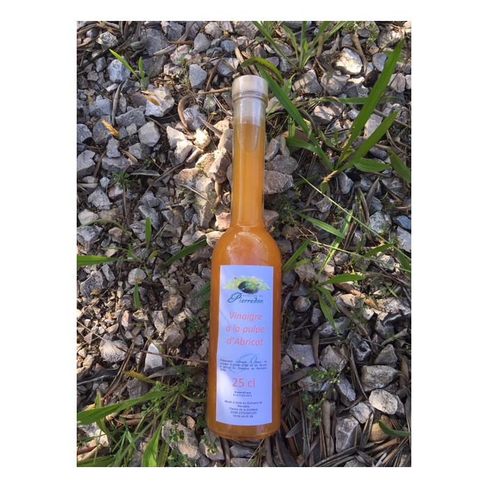 Vinaigre à la pulpe d'abricot